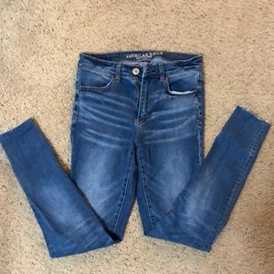 High rise tall jeans!